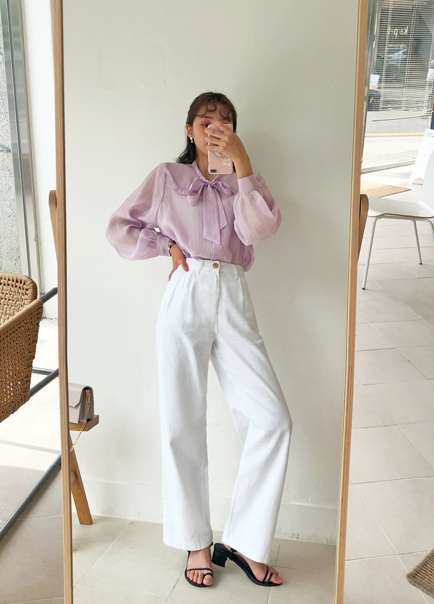 Diện mẫu váy áo đậm chất tiểu thư này, trông bạn sẽ quý phái và yêu kiều hệt như các mỹ nhân Kbiz vậy - Ảnh 17.