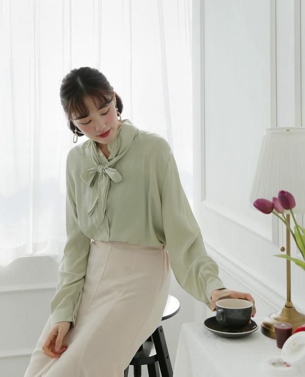 Diện mẫu váy áo đậm chất tiểu thư này, trông bạn sẽ quý phái và yêu kiều hệt như các mỹ nhân Kbiz vậy - Ảnh 10.