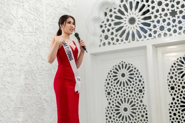 Hoa hậu Hoàn vũ VN: Thúy Vân dẫn đầu, cô gái Việt kiều khiến giám khảo đơ người khi nói... tiếng Nga - Ảnh 6.