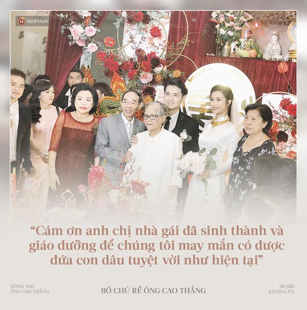 """Xúc động lời bố chú rể Ông Cao Thắng nói về Đông Nhi: Chúng tôi may mắn có được đứa con dâu tuyệt vời như hiện tại"""" - Ảnh 2."""