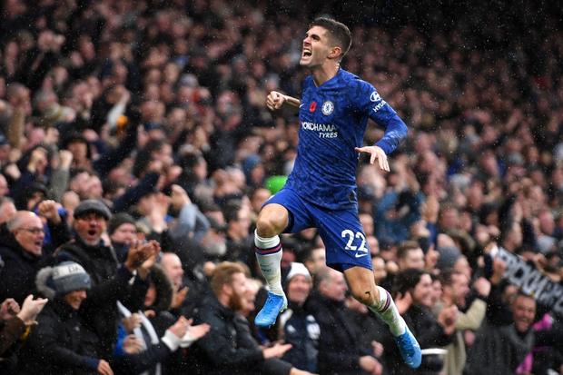 Đội trưởng Mỹ Pulisic bùng nổ, Chelsea tiếp tục bay cao tại giải Ngoại hạng Anh - Ảnh 3.