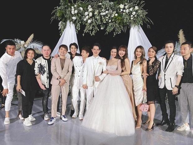 Dàn khách mời nữ trong đám cưới Đông Nhi cũng lên đồ xuất sắc quá trời: Đẹp mỹ mãn mà chẳng hề lấn át cô dâu - Ảnh 1.