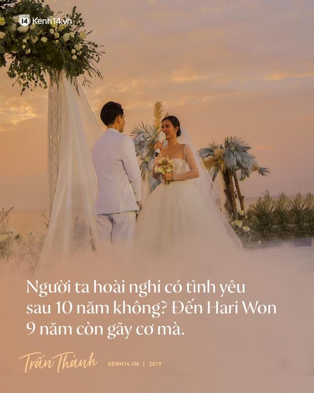 Không chỉ nhắc chuyện quá khứ của Hari Won, Trấn Thành còn gây sốc bởi loạt câu nói trong siêu đám cưới Đông Nhi và Ông Cao Thắng - Ảnh 2.