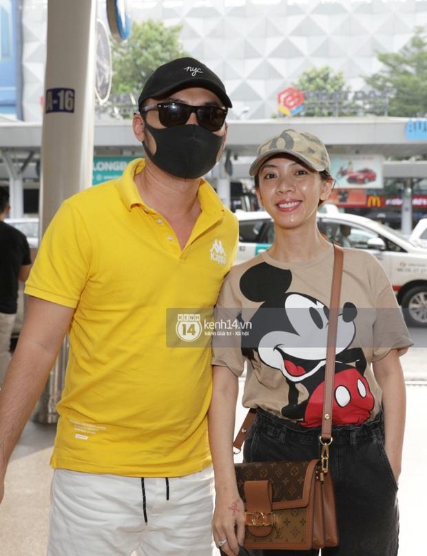 """Livestream: """"Rợp trời"""" sao Việt gây náo loạn sân bay tới Phú Quốc dự đám cưới Đông Nhi - Ông Cao Thắng - Ảnh 6."""
