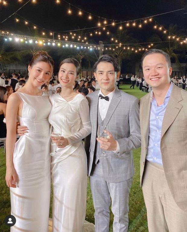 Dàn khách mời nữ trong đám cưới Đông Nhi cũng lên đồ xuất sắc quá trời: Đẹp mỹ mãn mà chẳng hề lấn át cô dâu - Ảnh 15.