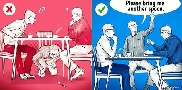"""Đi ăn cưới hay dùng tiệc nhà hàng chắc ai cũng từng mắc những sai lầm này, lưu ý ngay để bớt """"kém sang"""" trong mắt người khác nhé! - Ảnh 5."""