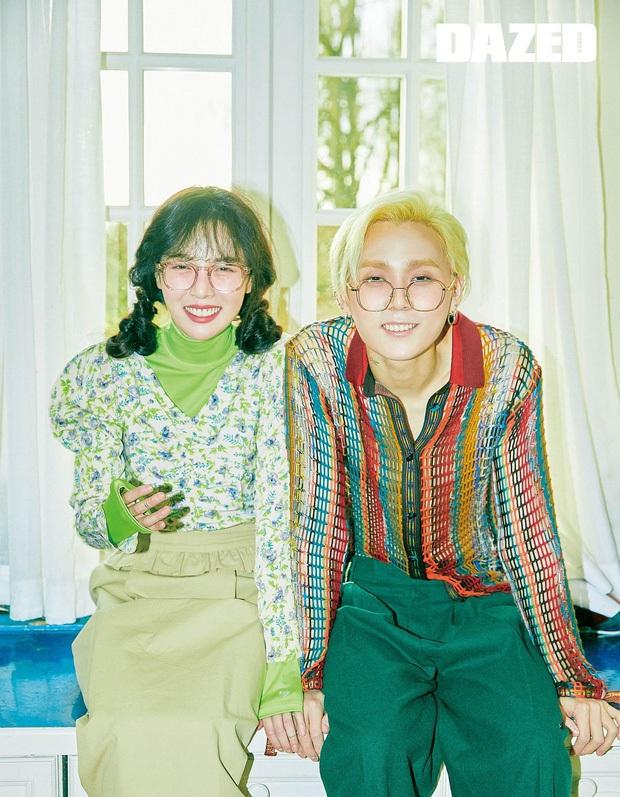 Vbiz náo loạn vì Đông Nhi - Ông Cao Thắng, Kbiz cũng xôn xao cặp đôi 4 năm Hyuna - Edawn: Tung ảnh cực hot nhưng sao trông cứ sai sai - Ảnh 6.