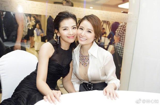 Màn đọ nhan sắc bất phân thắng bại giữa Lưu Đào và Lâm Tâm Như, cặp đôi tình bạn từ trong phim đến ngoài đời - Ảnh 5.