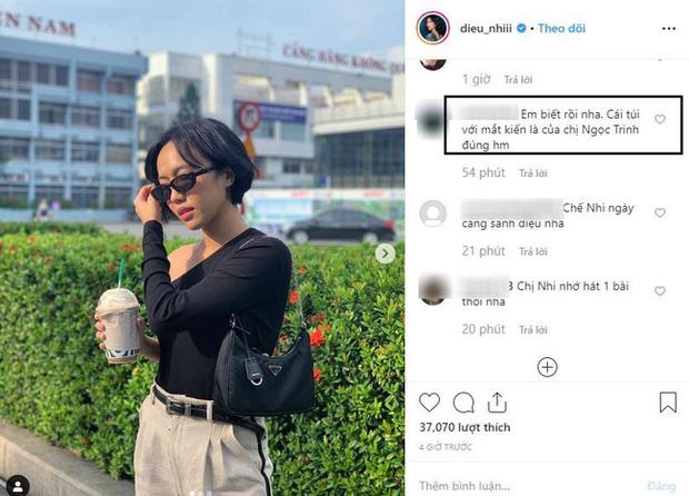Không hẹn mà gặp, Phạm Quỳnh Anh - Diệu Nhi cùng diện áo lệch vai ra sân bay nhưng nhân vật mà fan réo tên lại là Ngọc Trinh - Ảnh 7.