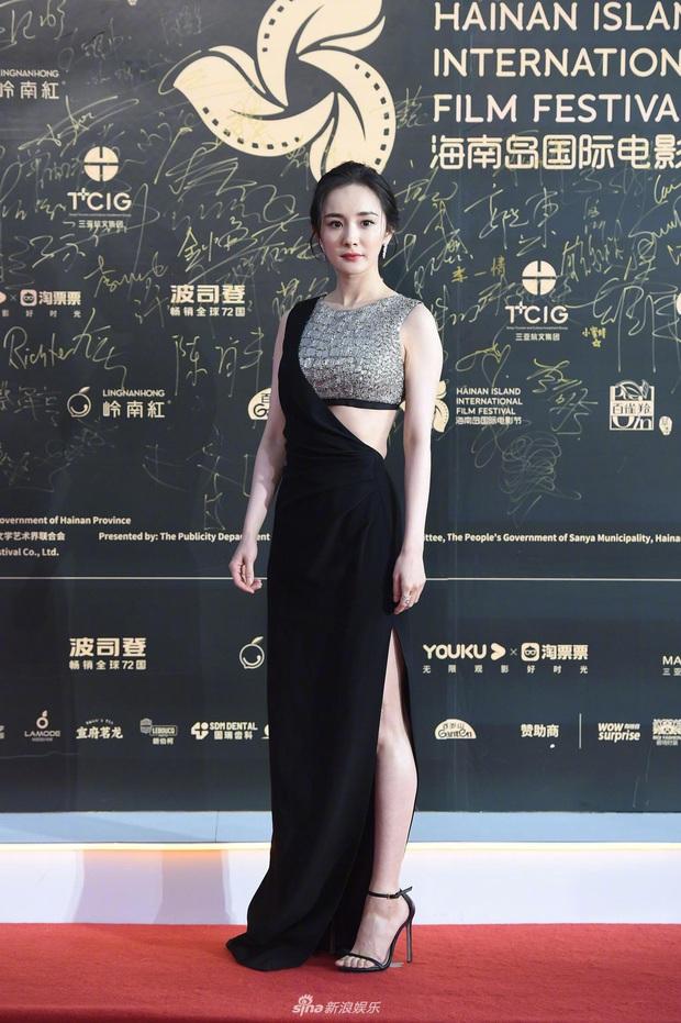 Thảm đỏ gây thất vọng hôm nay: Dương Mịch lộ body tăng cân, Trần Kiều Ân - Côn Lăng bị netizen chê dừ chát - Ảnh 2.
