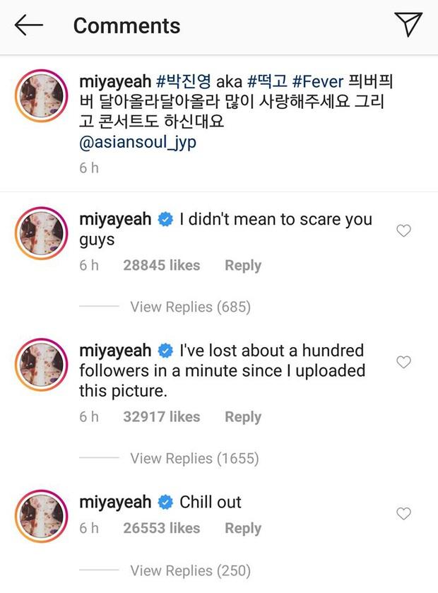 Góc hài hước: Sunmi đăng hình ủng hộ chủ tịch JYP tung MV mới nhưng fan tưởng cô công khai... người yêu nên bỏ theo dõi Instagram  - Ảnh 2.