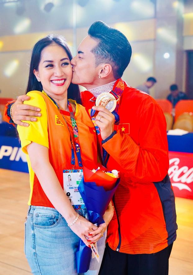 Phan Hiển chính thức giành HCV tại SEA Games 30, Khánh Thi lập tức òa khóc nức nở, ôm chầm lấy chồng vì quá hạnh phúc! - Ảnh 5.