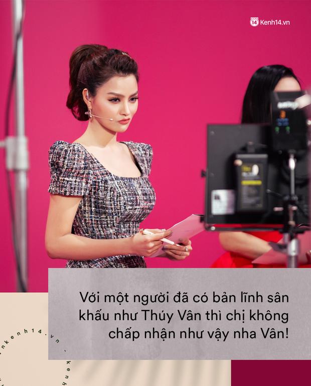 Lần nào xuất hiện cũng bị chặt chém, Vũ Thu Phương là khắc tinh của Thúy Vân tại Hoa hậu Hoàn vũ VN? - Ảnh 4.