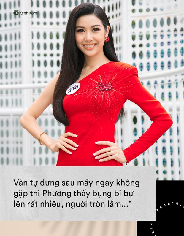 Lần nào xuất hiện cũng bị chặt chém, Vũ Thu Phương là khắc tinh của Thúy Vân tại Hoa hậu Hoàn vũ VN? - Ảnh 9.