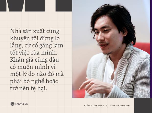 Kiều Minh Tuấn: Tôi được khuyên đừng kén vai quá, không làm bậy làm ẩu là được, 10 phim thì sẽ có 1 phim làm mình hãnh diện - Ảnh 6.