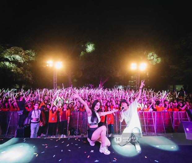 Binz gây choáng khi cởi trần khoe cơ bắp, Vũ - Ngọt Band thổi làn gió mới cho Yamaha Road to Ravolution: DJ Battle tại Hà Nội - Ảnh 6.