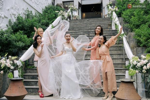 Nhã Phương sánh đôi với Trường Giang, cùng dàn sao Vbiz tới chung vui trong đám cưới Hoàng Oanh - Ảnh 25.