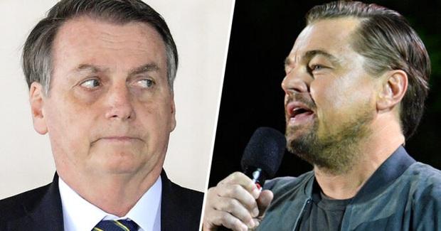 Vô duyên vô cớ bị đổ thừa đốt rừng Amazon, tài tử Leonardo DiCaprio phản ứng mạnh mẽ đáp lại Tổng thống Brazil - Ảnh 1.
