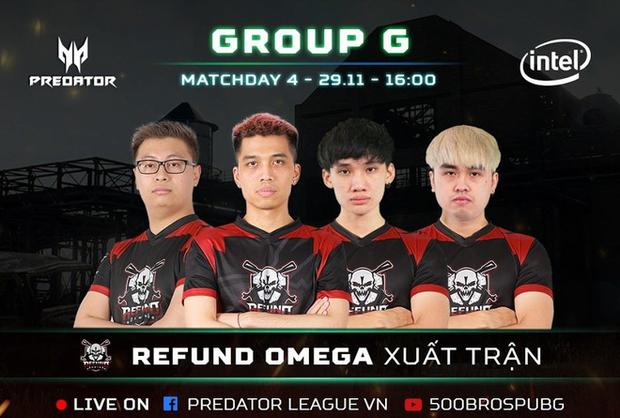 Vòng loại Predator League 2020: Refund Omega bị loại đáng tiếc, hạt giống Young Team cũng chịu chung số phận! - Ảnh 1.