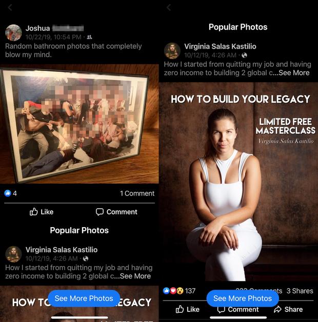Facebook đang ngày càng nhái Instagram nhiều hơn: Cũng có feed ảnh dọc lạ lùng kéo hoài không hết - Ảnh 1.