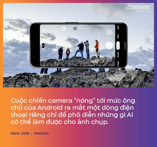 Vì sao Apple, Google, Samsung, Huawei, Xiaomi... đều tập trung sáng tạo vào camera trên smartphone? - Ảnh 1.