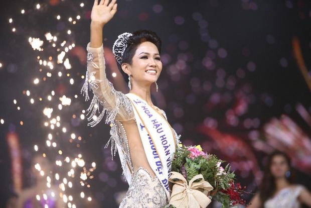 So kè 4 Hoa hậu Hoàn vũ Việt Nam sau 10 năm: Nhan sắc không vừa, Thùy Lâm - Khánh Vân trùng hợp, H'Hen Niê đặc biệt nhất - Ảnh 13.