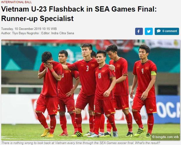 Báo Indonesia chê Việt Nam là vua về nhì tại SEA Games - Ảnh 1.