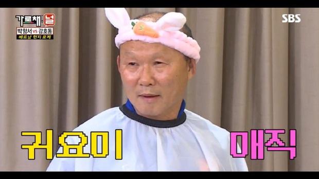 Không chỉ làm nên lịch sử cho bóng đá Việt Nam, HLV Park Hang Seo còn là ngôi sao rating của show thực tế Hàn Quốc - Ảnh 7.