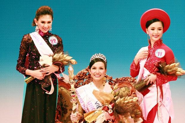 So kè 4 Hoa hậu Hoàn vũ Việt Nam sau 10 năm: Nhan sắc không vừa, Thùy Lâm - Khánh Vân trùng hợp, H'Hen Niê đặc biệt nhất - Ảnh 2.