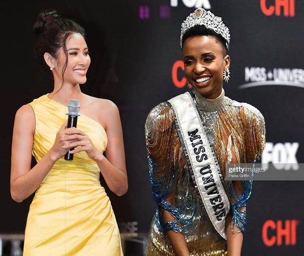 Clip hot trở lại: Tân Hoa hậu Hoàn vũ từng dự đoán Hoàng Thùy đăng quang, còn khen lên tận mây xanh - Ảnh 2.