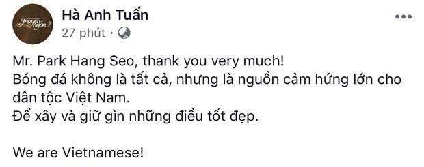 Đông Nhi, Kỳ Duyên cùng dàn sao Vbiz phát cuồng bởi hành động bảo vệ học trò và pha ăn mừng cực đáng yêu của HLV Park Hang-Seo! - Ảnh 4.