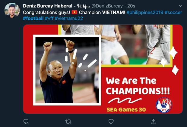 Việt Nam xuất sắc giành HCV đầu tiên trong lịch sử, dân mạng quốc tế rộn ràng chúc mừng, hết lời ngợi khen tân vô địch - Ảnh 4.