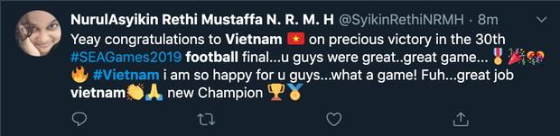 Việt Nam xuất sắc giành HCV đầu tiên trong lịch sử, dân mạng quốc tế rộn ràng chúc mừng, hết lời ngợi khen tân vô địch - Ảnh 7.