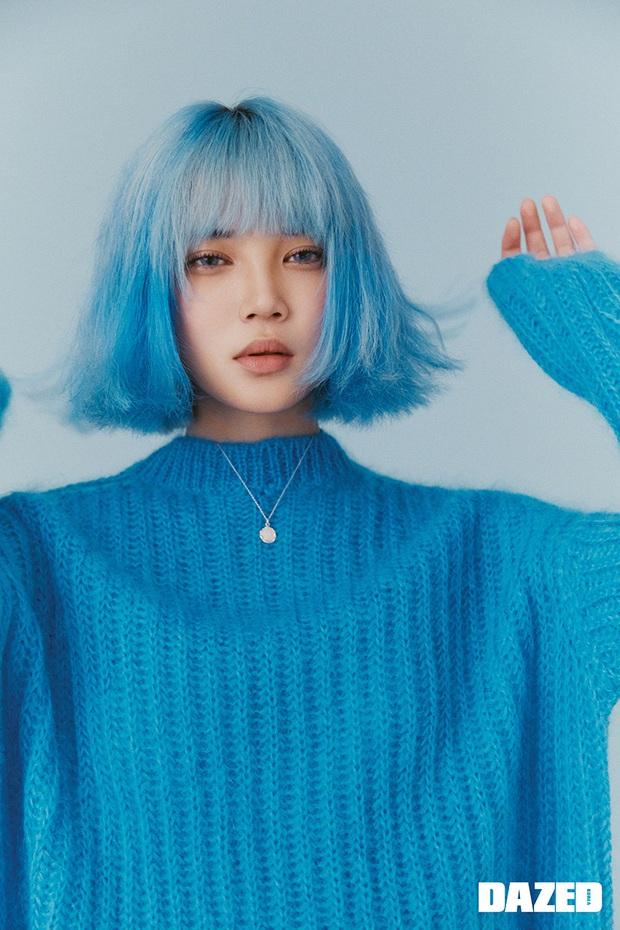 Bái phục idol Hàn khoản đoán tương lai: Cả binh đoàn đã nhuộm tóc xanh bắt trend trước khi biết màu chính thức của năm 2020 - Ảnh 5.