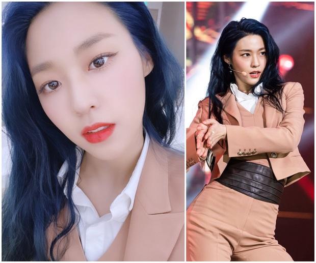 Bái phục idol Hàn khoản đoán tương lai: Cả binh đoàn đã nhuộm tóc xanh bắt trend trước khi biết màu chính thức của năm 2020 - Ảnh 3.