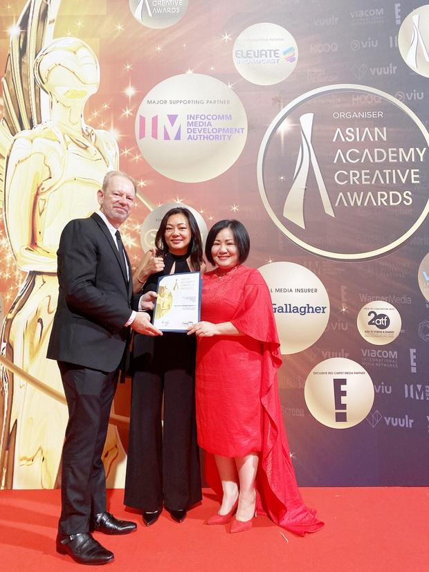 The Face Vietnam 2018 chính thức nhận giải Chương trình không kịch bản xuất sắc nhất Việt Nam tại Singapore - Ảnh 1.