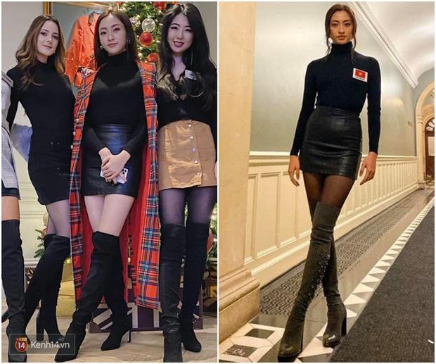 Dự Miss World, Lương Thùy Linh thường xuyên diện lại đồ cũ, trái ngược hẳn với cách chơi lớn của Hoàng Thùy tại Miss Universe - Ảnh 1.