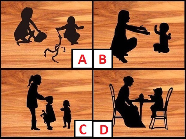 Thử tài chỉ số EQ và IQ của bạn: Nhìn hình đoán xem người phụ nữ và đứa trẻ nào không phải là mẹ - con? - Ảnh 1.