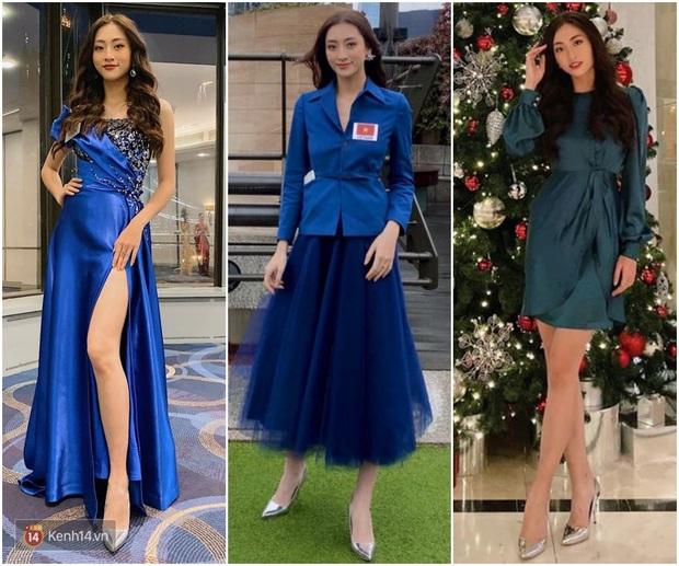 Dự Miss World, Lương Thùy Linh thường xuyên diện lại đồ cũ, trái ngược hẳn với cách chơi lớn của Hoàng Thùy tại Miss Universe - Ảnh 2.