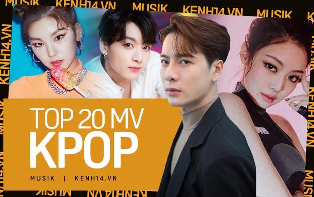 20 MV Kpop có lượt xem khủng nhất 2019: BTS và BLACKPINK tranh ngôi vương, JYP áp đảo, có đến 8 MV của tân binh lọt top quá ấn tượng - Ảnh 1.