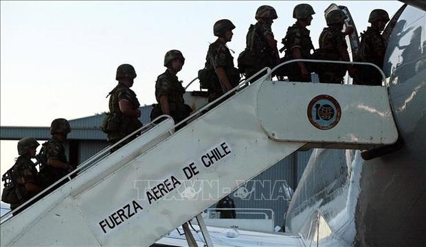 Máy bay quân sự của Chile mất tích - Ảnh 1.
