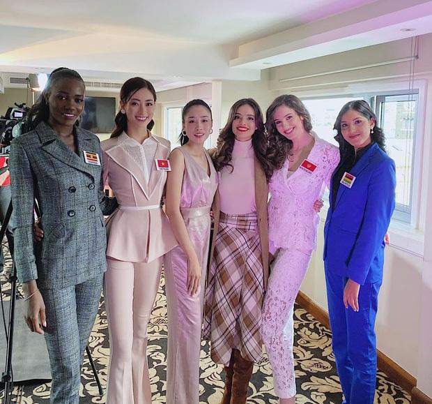 Bắn tiếng Anh đến mức đương kim Hoa hậu phải trầm trồ, Lương Thùy Linh vẫn trượt suất tiến thẳng vào Top 40 Miss World - Ảnh 5.