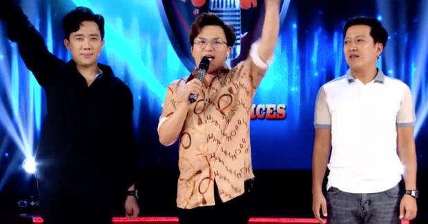 Trấn Thành, Đại Nghĩa hô to Việt Nam chiến thắng trên trường quay Giọng ải giọng ai - Ảnh 2.