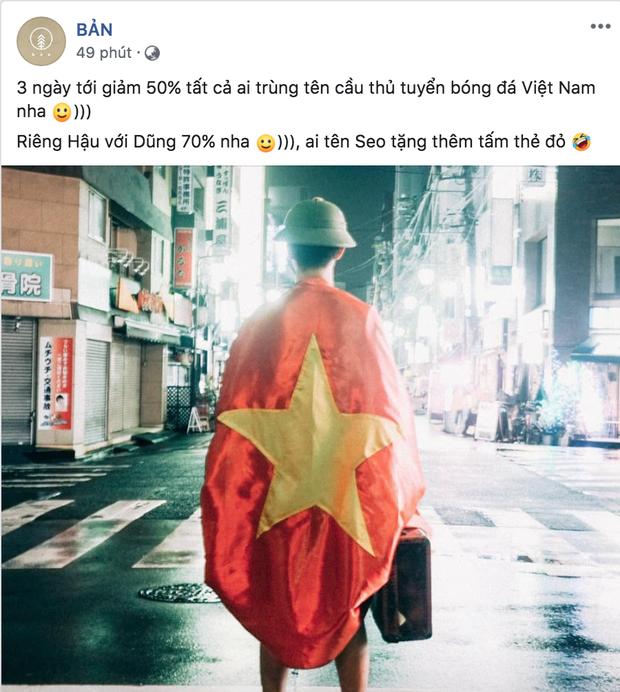 Việt Nam giành HCV rồi, quán nào mà chưa giảm giá ăn mừng là lỗi thời ngay với loạt quán dưới đây đó! - Ảnh 1.