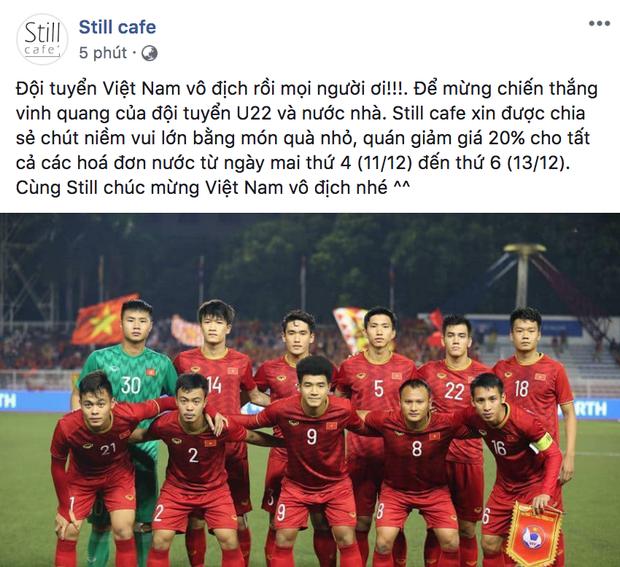 Việt Nam giành HCV rồi, quán nào mà chưa giảm giá ăn mừng là lỗi thời ngay với loạt quán dưới đây đó! - Ảnh 16.