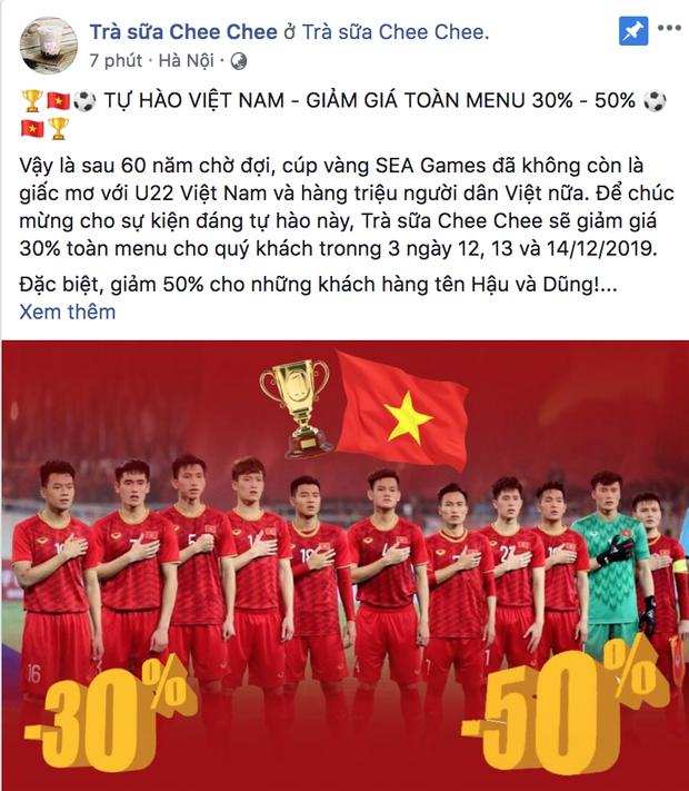 Việt Nam giành HCV rồi, quán nào mà chưa giảm giá ăn mừng là lỗi thời ngay với loạt quán dưới đây đó! - Ảnh 10.