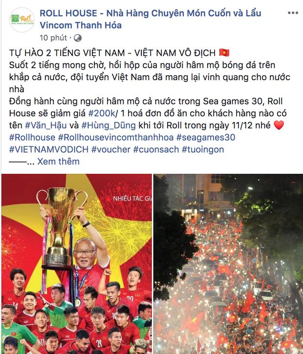 Việt Nam giành HCV rồi, quán nào mà chưa giảm giá ăn mừng là lỗi thời ngay với loạt quán dưới đây đó! - Ảnh 22.