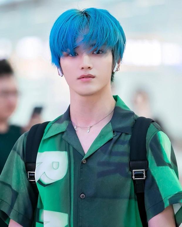 Bái phục idol Hàn khoản đoán tương lai: Cả binh đoàn đã nhuộm tóc xanh bắt trend trước khi biết màu chính thức của năm 2020 - Ảnh 9.