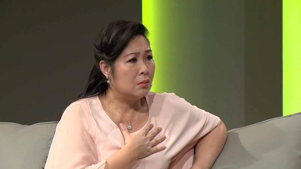 Bé Sa hiếu kỳ trước chú Trấn Thành, Quỳnh Trần JP bật khóc nhớ lại nỗi đau từng mất con - Ảnh 8.