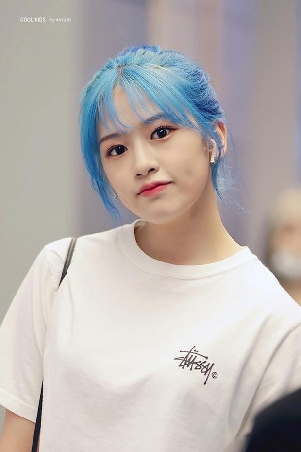 Bái phục idol Hàn khoản đoán tương lai: Cả binh đoàn đã nhuộm tóc xanh bắt trend trước khi biết màu chính thức của năm 2020 - Ảnh 7.